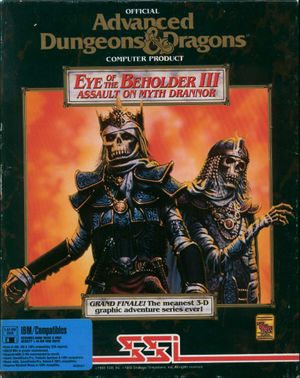 Eye of the Beholder III: Assault on Myth Drannor cover