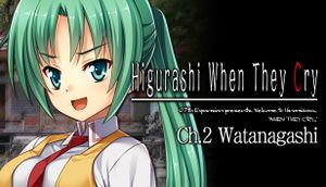 Higurashi When They Cry Hou - Ch.2 Watanagashi cover