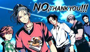 NO, THANK YOU!!! cover