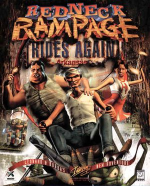 Redneck Rampage Rides Again cover