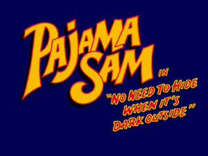 Pajama Sam: No Need To Hide When It's Dark Outside cover
