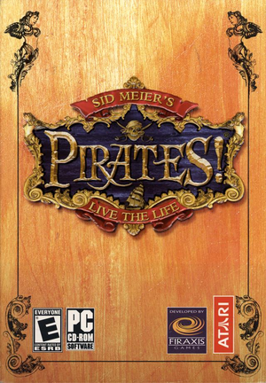 Sid Meier's Pirates! cover