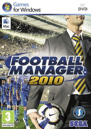 Football Manager 2010 cover