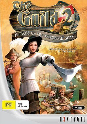 The Guild II: Pirates of the European Seas cover