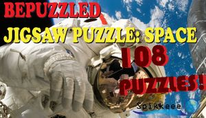 Bepuzzled Space Jigsaw Puzzle cover