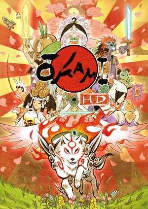 Ōkami HD cover