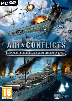 Air Conflicts: Pacific Carriers cover