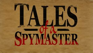 Tales of a Spymaster cover