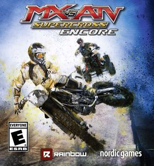 MX vs. ATV Supercross Encore cover