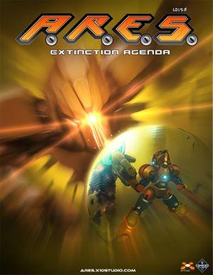 A.R.E.S.: Extinction Agenda cover