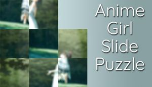 Anime Girl Slide Puzzle cover