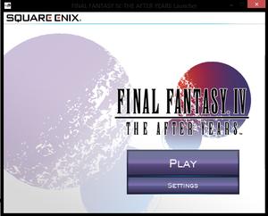 Launcher main screen.