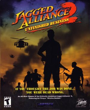 Jagged Alliance 2: Unfinished Business cover