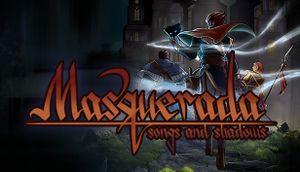 Masquerada: Songs and Shadows cover