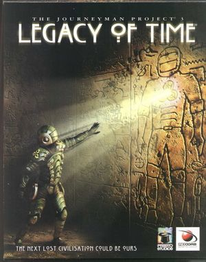 The Journeyman Project 3: Legacy of Time cover
