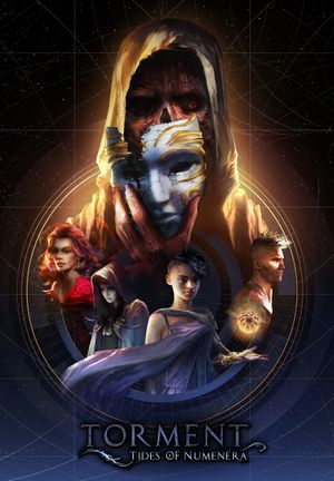Torment: Tides of Numenera cover