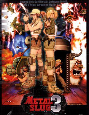 Metal Slug 3 cover