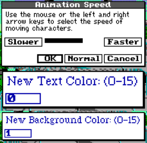 Video options