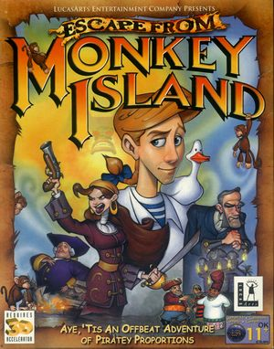 Escape from Monkey Island cover