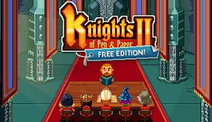 Knights of Pen and Paper 2: Free Edition cover