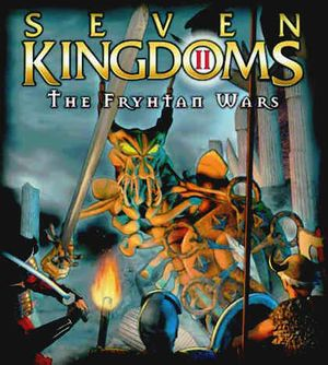 Seven Kingdoms II: The Fryhtan Wars cover