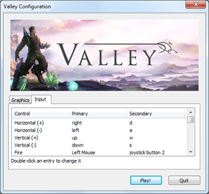 Launcher input settings