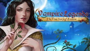 Vampire Legends: The True Story of Kisilova cover