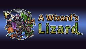 A Wizard's Lizard cover