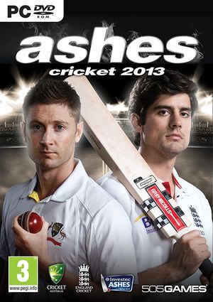 Ashes Cricket 2013 cover