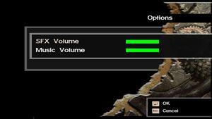 Volume controls.