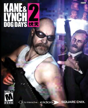 Kane & Lynch 2: Dog Days cover