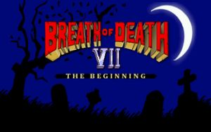 Breath of Death VII: The Beginning cover