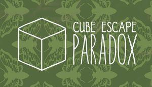 Cube Escape: Paradox cover