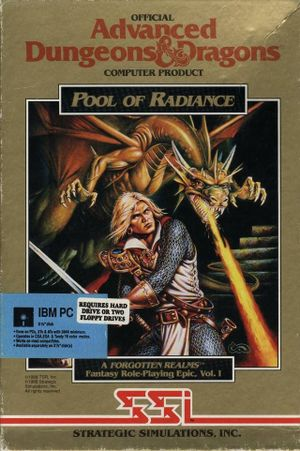 Pool of Radiance cover