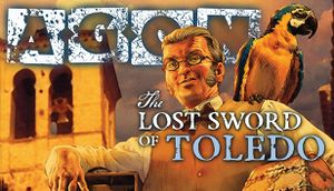 AGON: The Lost Sword of Toledo cover