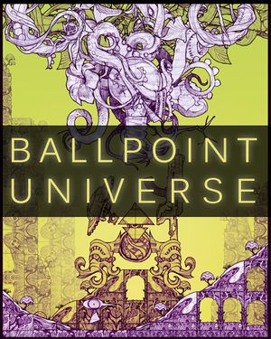 Ballpoint Universe: Infinite cover