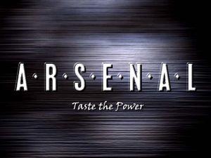 Arsenal: Taste the Power cover