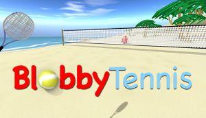 Blobby Tennis cover