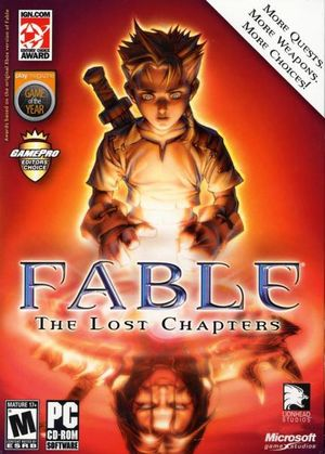 Fable: The Lost Chapters cover
