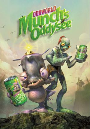 Oddworld: Munch's Oddysee cover