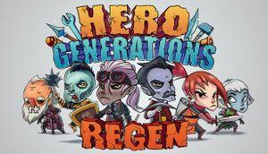 Hero Generations: ReGen cover