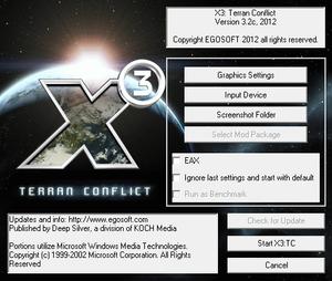 Launcher general settings.