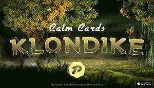 Calm Cards - Klondike cover