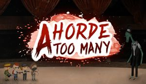 A Horde Too Many cover