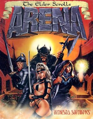 The Elder Scrolls: Arena cover