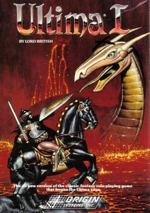 Ultima I: The First Age of Darkness cover