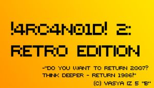 !4RC4N01D! 2: Retro Edition cover