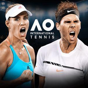 AO International Tennis cover