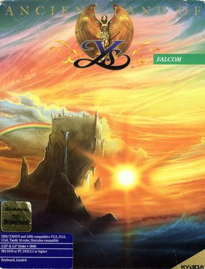 Ancient Land of Ys cover