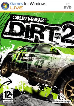 Colin McRae: DiRT 2 cover